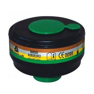 9PCFIL4 filtro M8000 A2B2E2K2 para las máscaras completas M9200