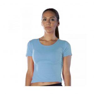 9RDSANNY camiseta mujer aerobic sanny azul precio muy económico