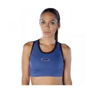 9RDTOP camiseta tirantes tipo top aerobic azul royal económico